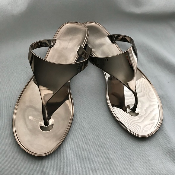 ab4921170c68 BCBGeneration Shoes - BCBG Generation Gold Thong Sandals